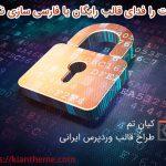 امنیت را فدای قالب رایگان یا فارسی سازی نکنیم