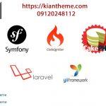 شناخت برترین فریم ورک های php
